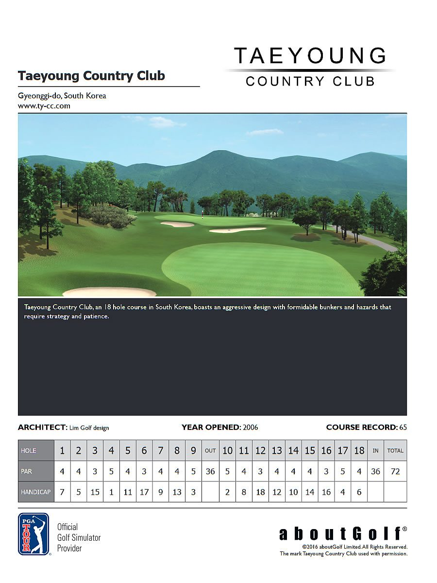 Taeyoung Country Club