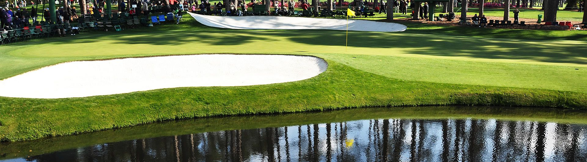 16th Green at the Masters
